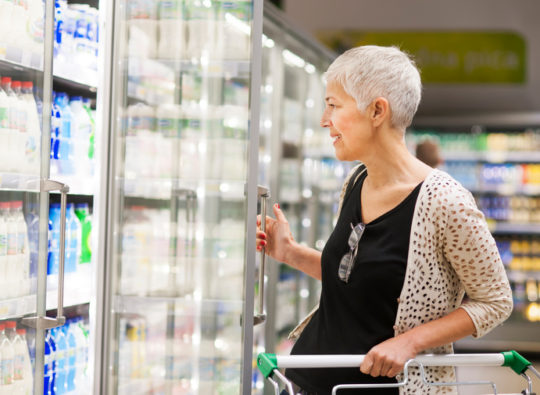 Grocery Shopping to Optimize Nutrition