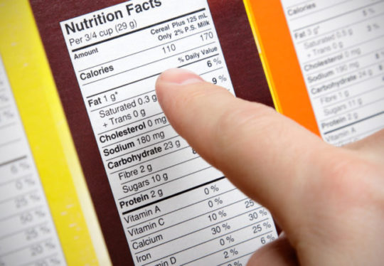 How to Read the Food Label to Lower Fat in Your Diet