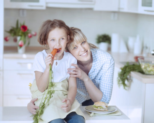 Developing Kids' Healthy Eating Habits