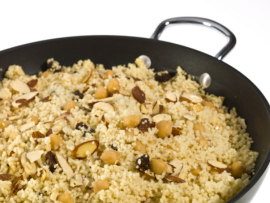 Garbanzo Beans and Couscous