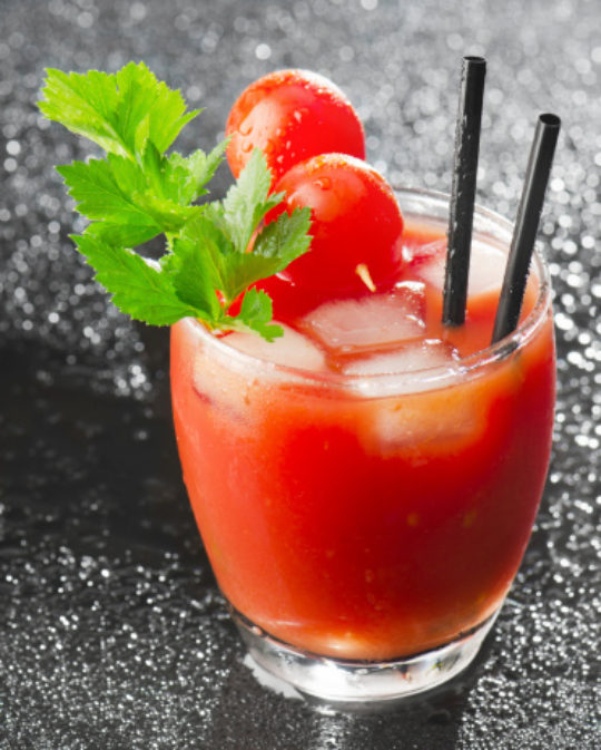 Memory-Boosting Bloody Mary