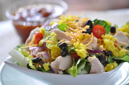 Chicken Taco Rice Salad