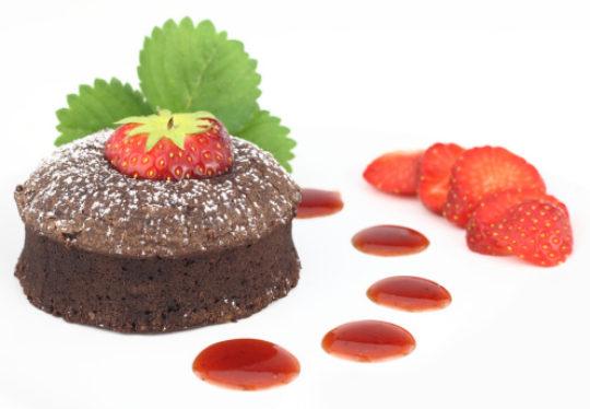 Decadent Chocolate Soufflé