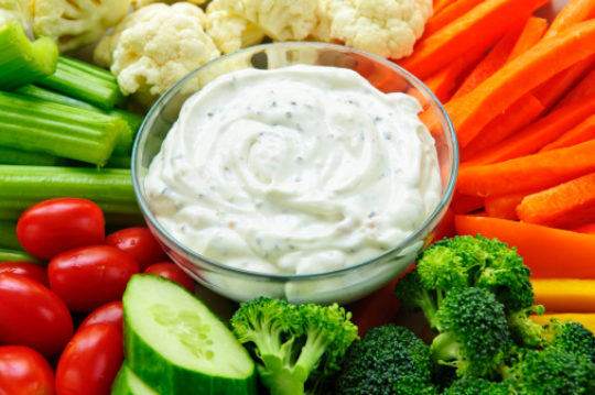 Cream Cheese Vegetable Dip