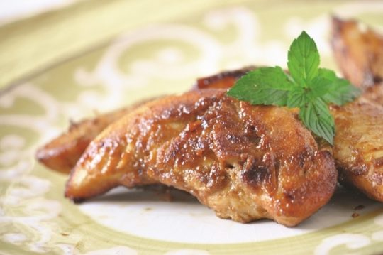 Glazed Ginger Chicken