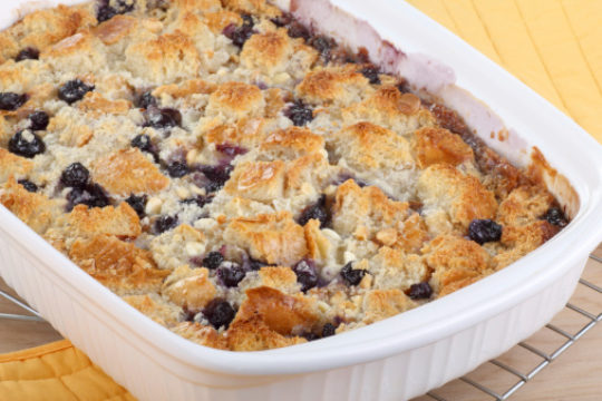 Grandma's Blueberry Cobbler