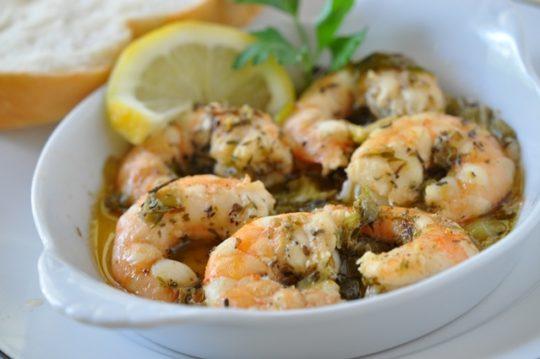 Lemon Herb Shrimp