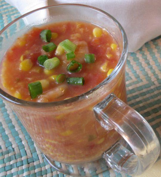 Quick Shrimp and Corn Soup