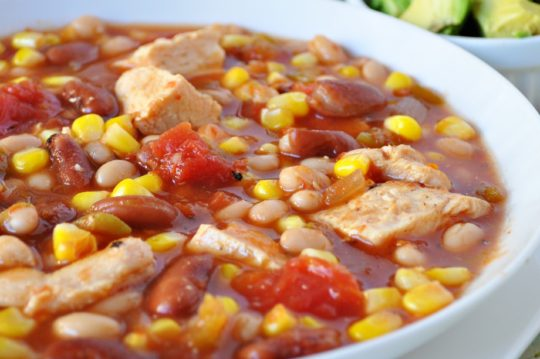 Speedy Chicken Chili