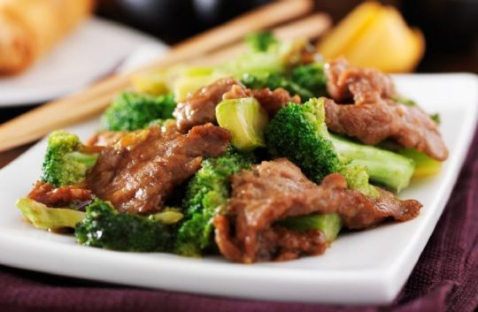Beef & Broccoli with Ginger