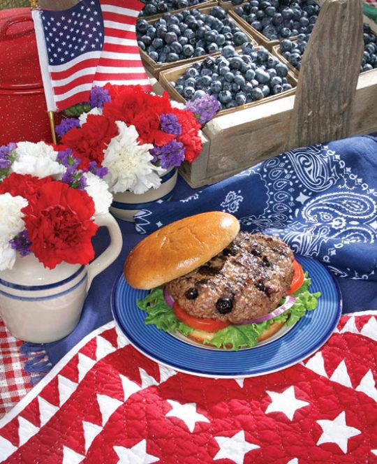 Blueberry Burgers