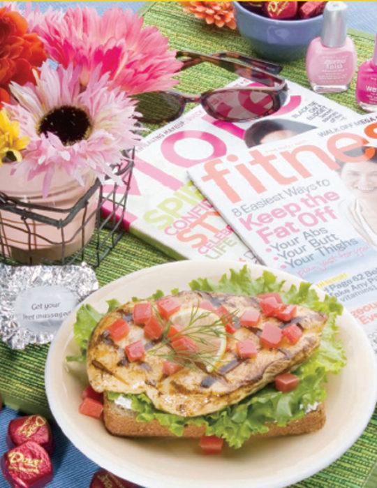 Divine Summertime Chicken Sandwich