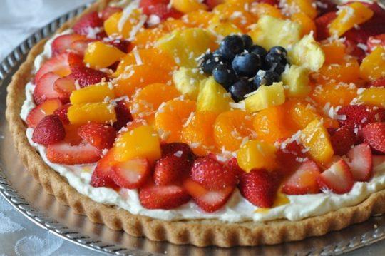 Tropical Fruit Pizza