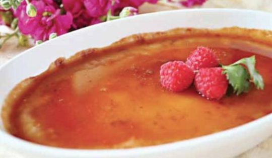 White Chocolate Crème Brulee