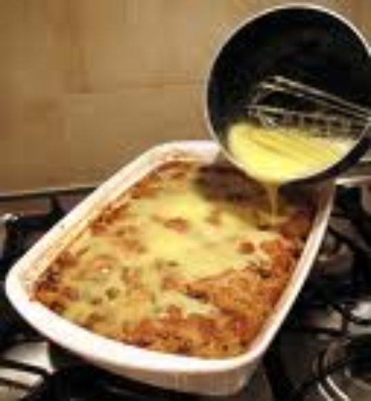 Bread Pudding Florentine