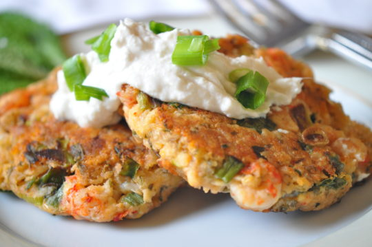 Crawfish Cakes with Horseradish Sauce