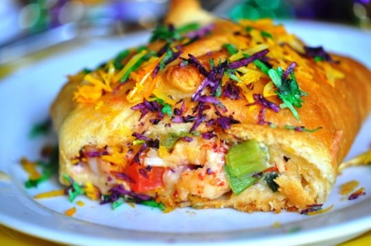 Crawfish King Cake