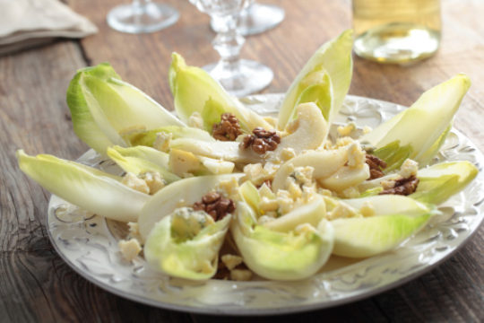Endive Mango Fig Appetizers