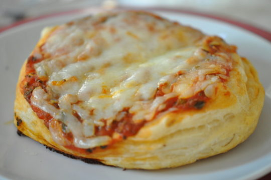 Mini Cheese Pizzas