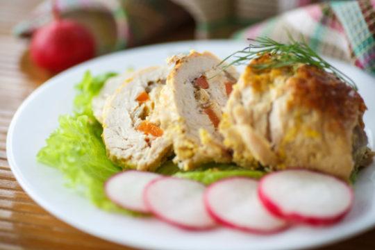 Rolled Chicken