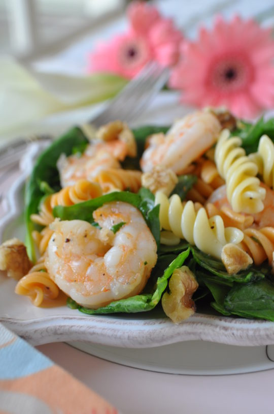 Shrimp Poppy Seed Pasta Salad