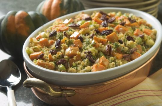 Yam Corn Bread Stuffing
