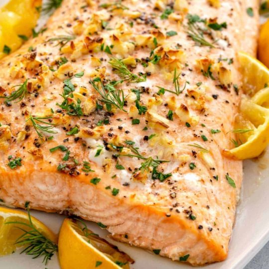 Heart Healthy Grilled or Baked Salmon