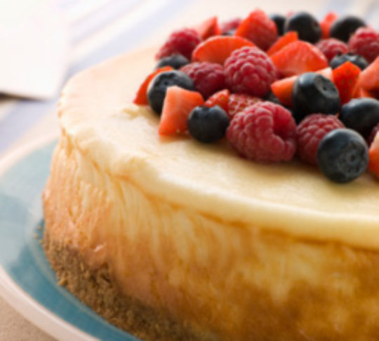 New York Style Cheesecake, Light