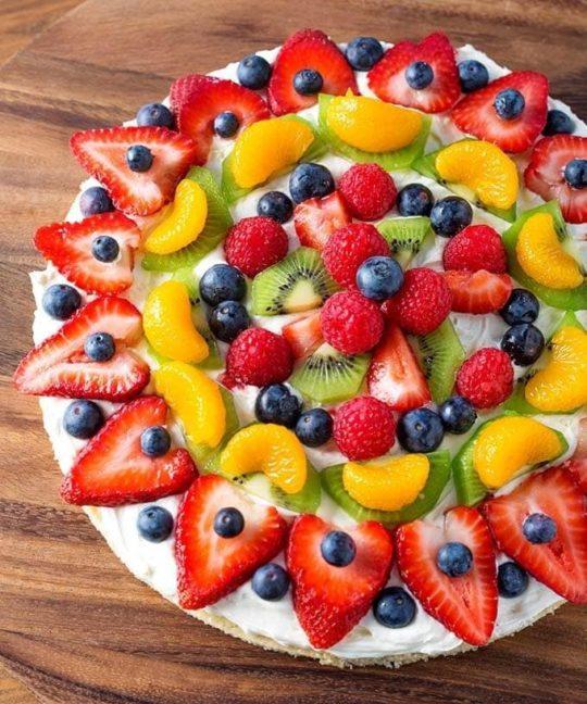 Dessert Party Pizzas