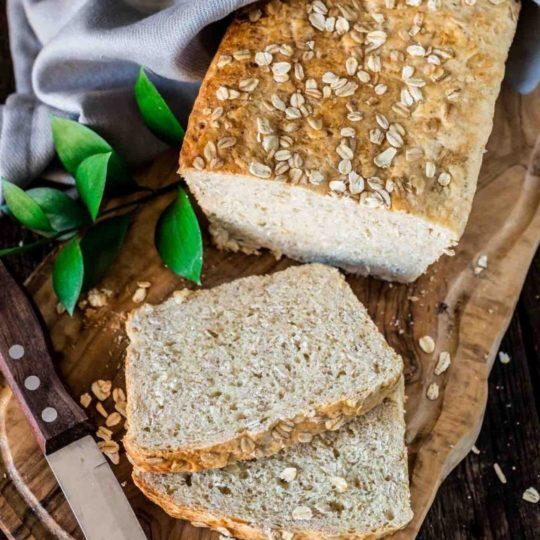 Oats & Honey Bread