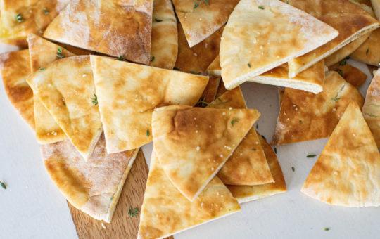 Healthy Pita Chips