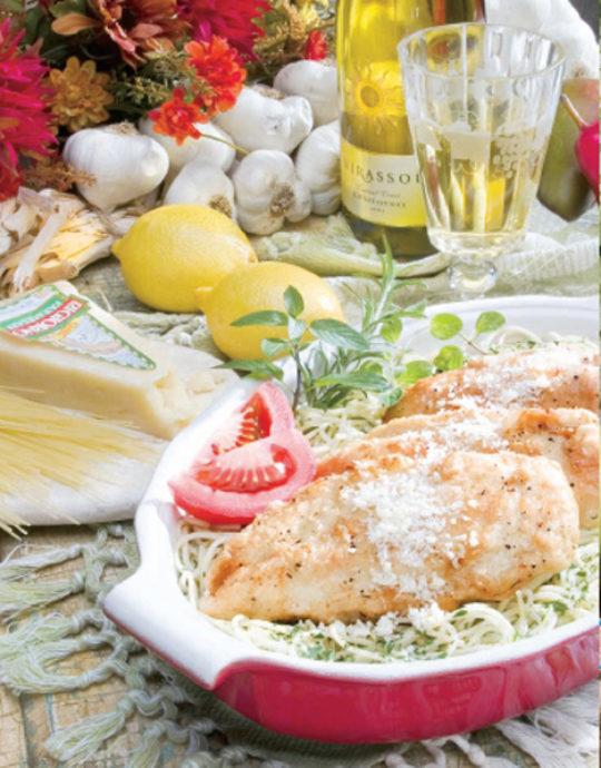Sylvia's Chicken Scallopine