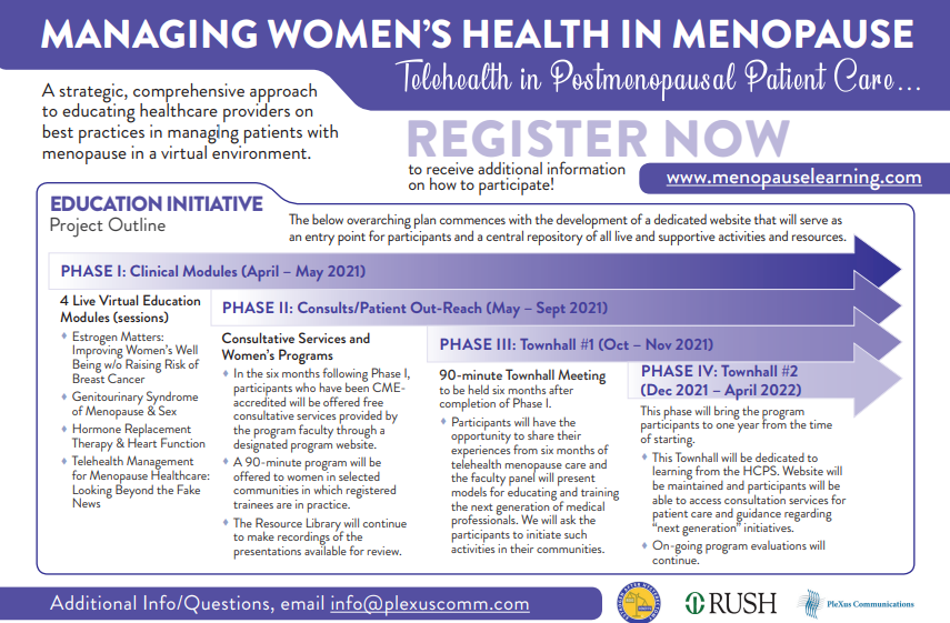 Managing Women's Health in Menopause